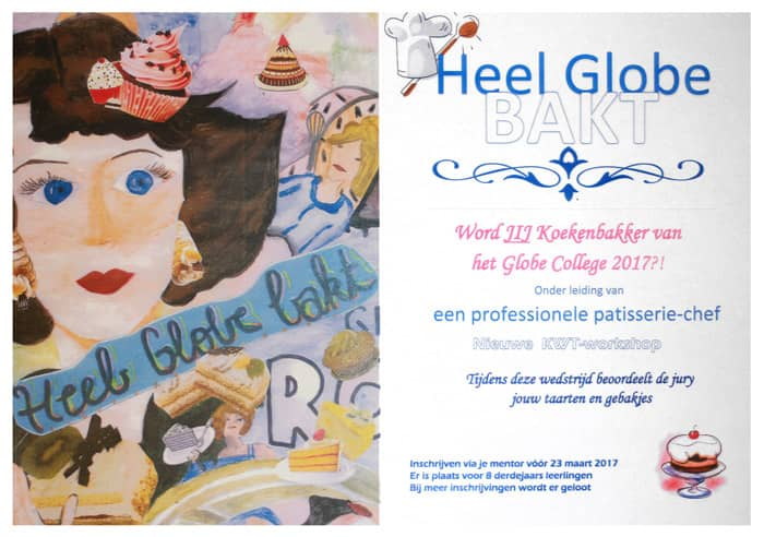 Heel Globe Bakt - Collage