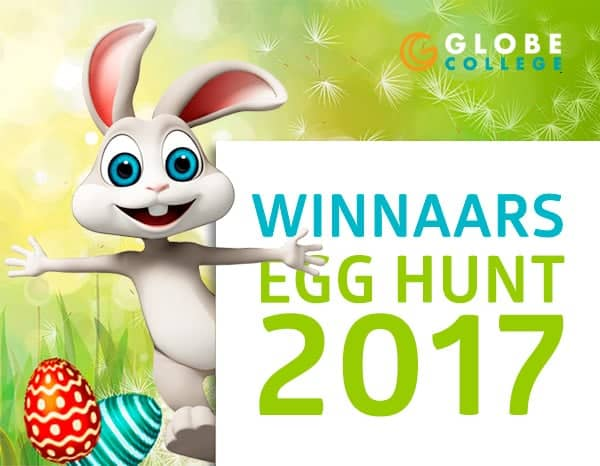 Pasen - winnaars Egg Hunt 2017